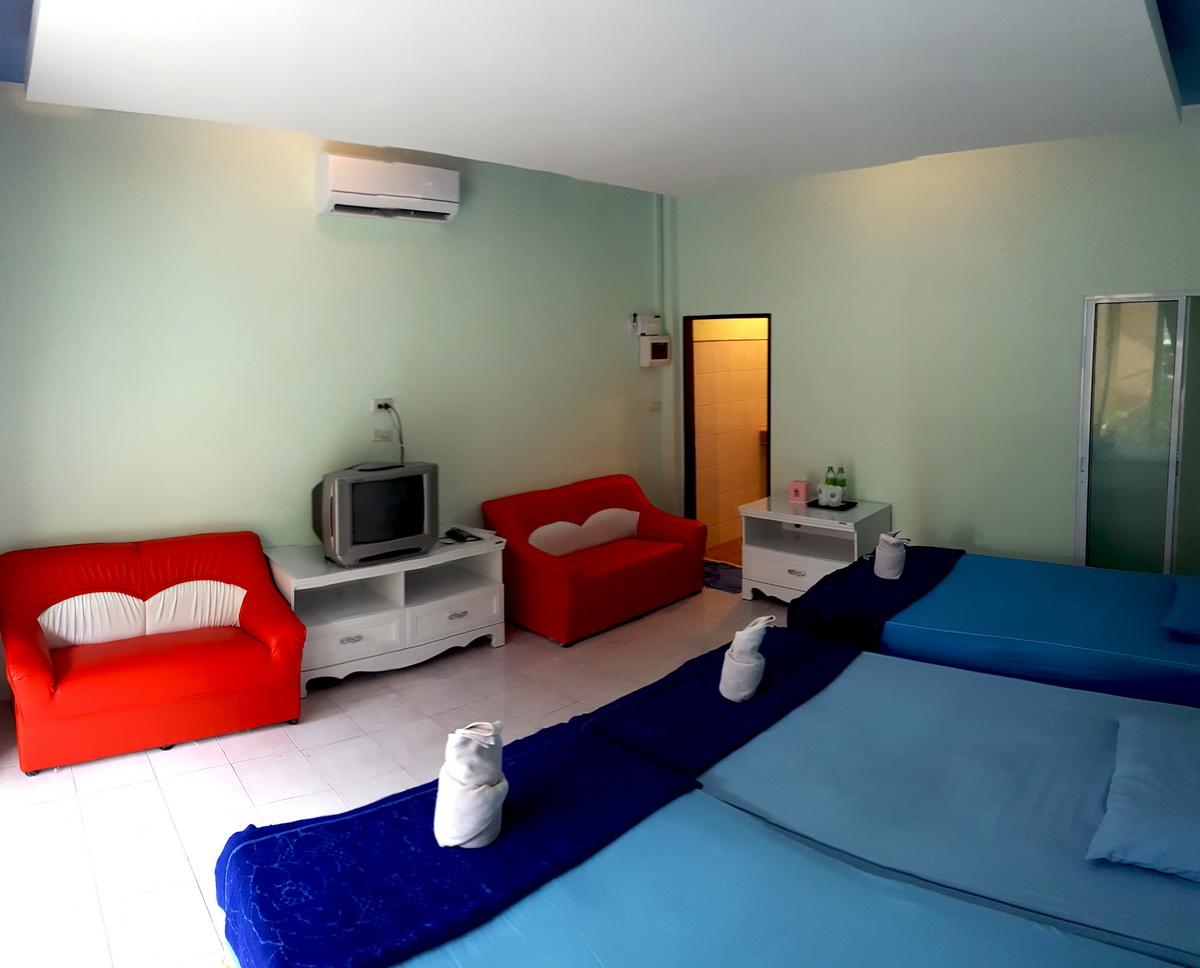 Family 3 Bed ห้องสำหรับครอบครัว